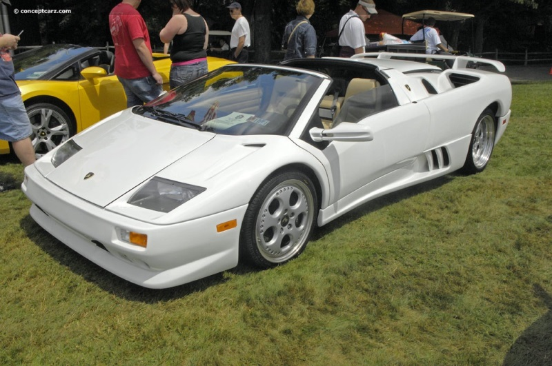 1999 lamborghini diablo at the pittsburgh vintage grand prix parade and shows. Black Bedroom Furniture Sets. Home Design Ideas