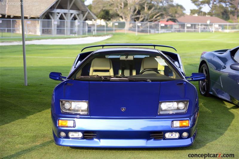 1999 Lamborghini Diablo Vt Image Chassis Number Za9du01b7xla12265