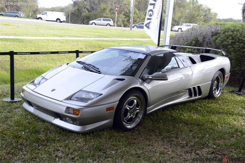 1999 Lamborghini Diablo Vt Image Chassis Number Za9ru31b4xla12375