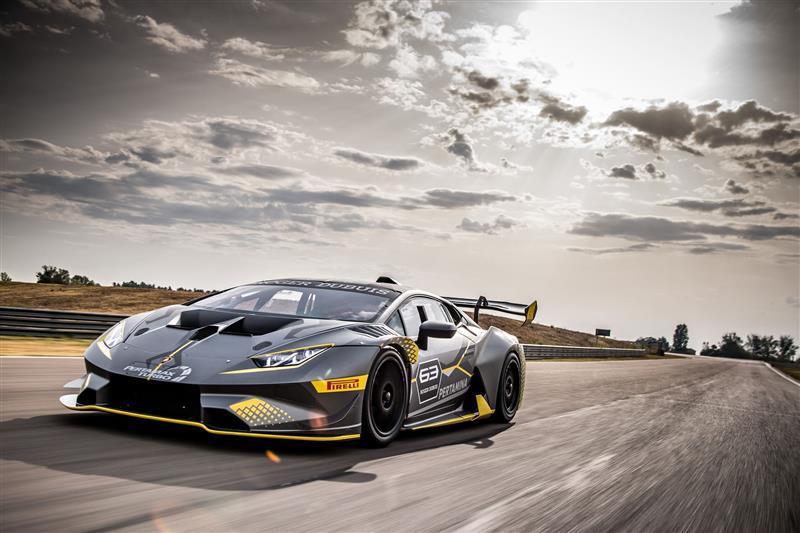 Lamborghini Huracán Super Trofeo EVO pictures and wallpaper