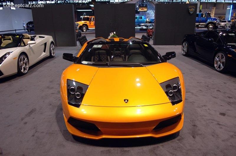 2007 Lamborghini Murcilago Lp640 Roadster Image Photo 20 Of 30