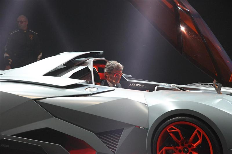 2013 Lamborghini Egoista Concept Image Photo 5 Of 13