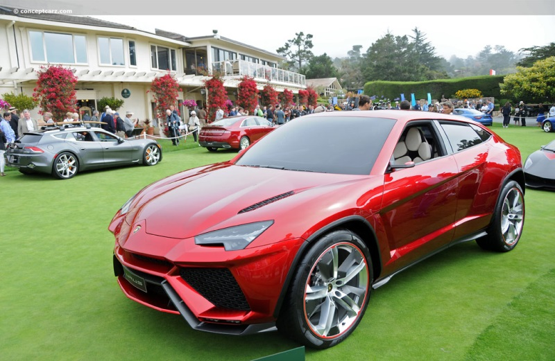 2012 Lamborghini Urus Concept Image. Photo 6 of 18