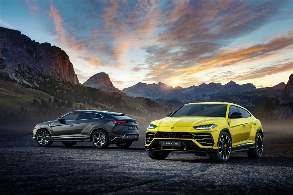 2018 Lamborghini Urus technical and mechanical specifications