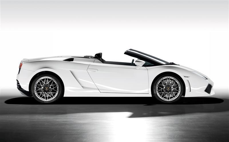 2009 Lamborghini Gallardo LP 560-4 Spyder