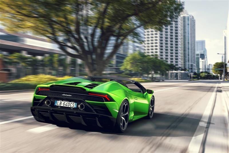2019 Lamborghini Huracan Evo Spyder Image Photo 8 Of 27