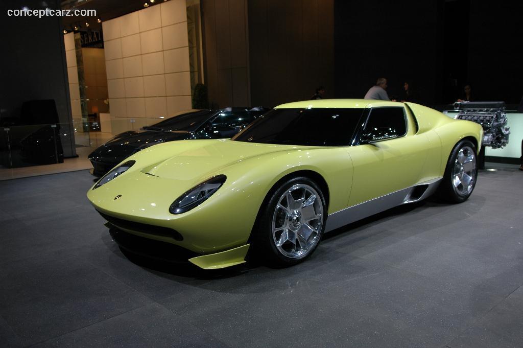 2006 Lamborghini Miura Concept Image Https Www