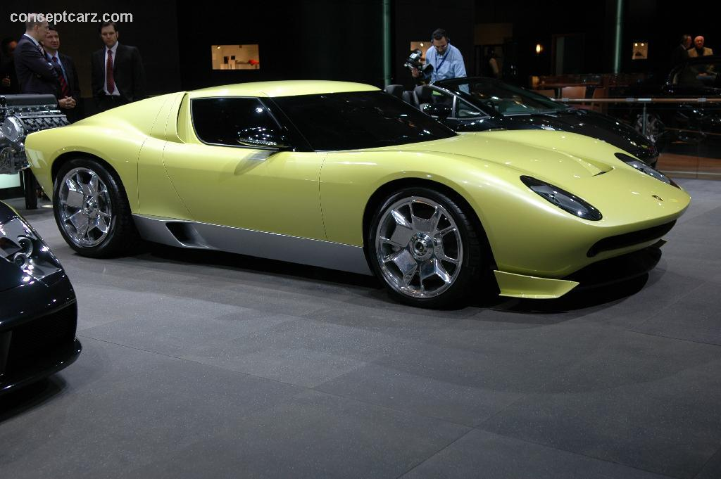 2006 Lamborghini Miura Concept Image Photo 7 Of 15