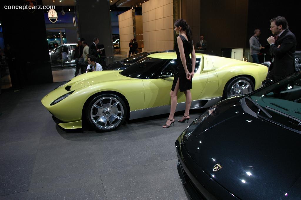 Auction Results And Sales Data For 2006 Lamborghini Miura Concept