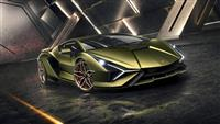 Popular 2019 Lamborghini Sián Wallpaper