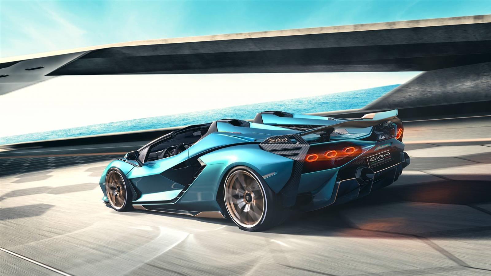 2020 Lamborghini Sián Roadster