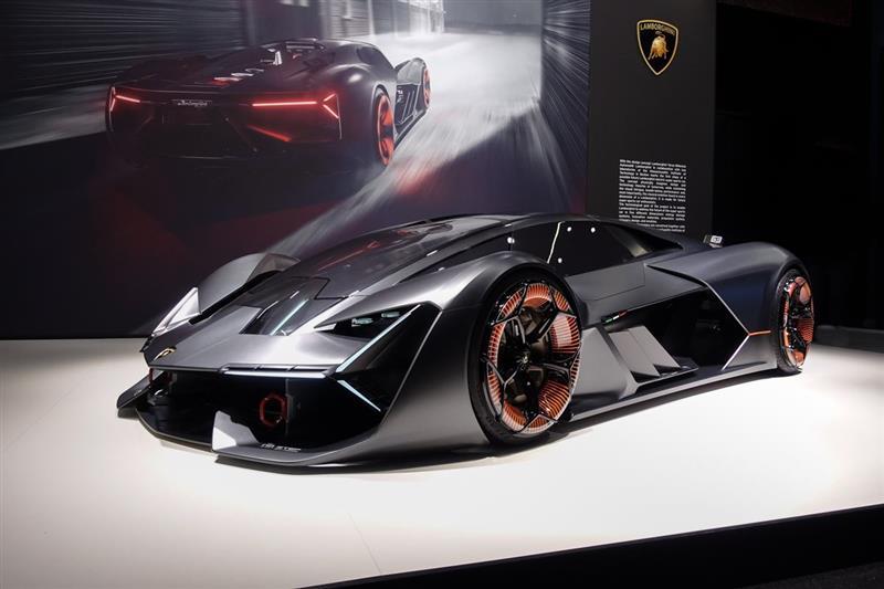 2017 Lamborghini Terzo Millennio Concept Image Photo 2 Of 17