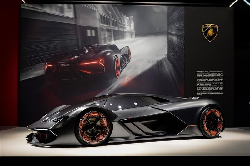 2017 Lamborghini Terzo Millennio Concept Image Photo 1 Of 17