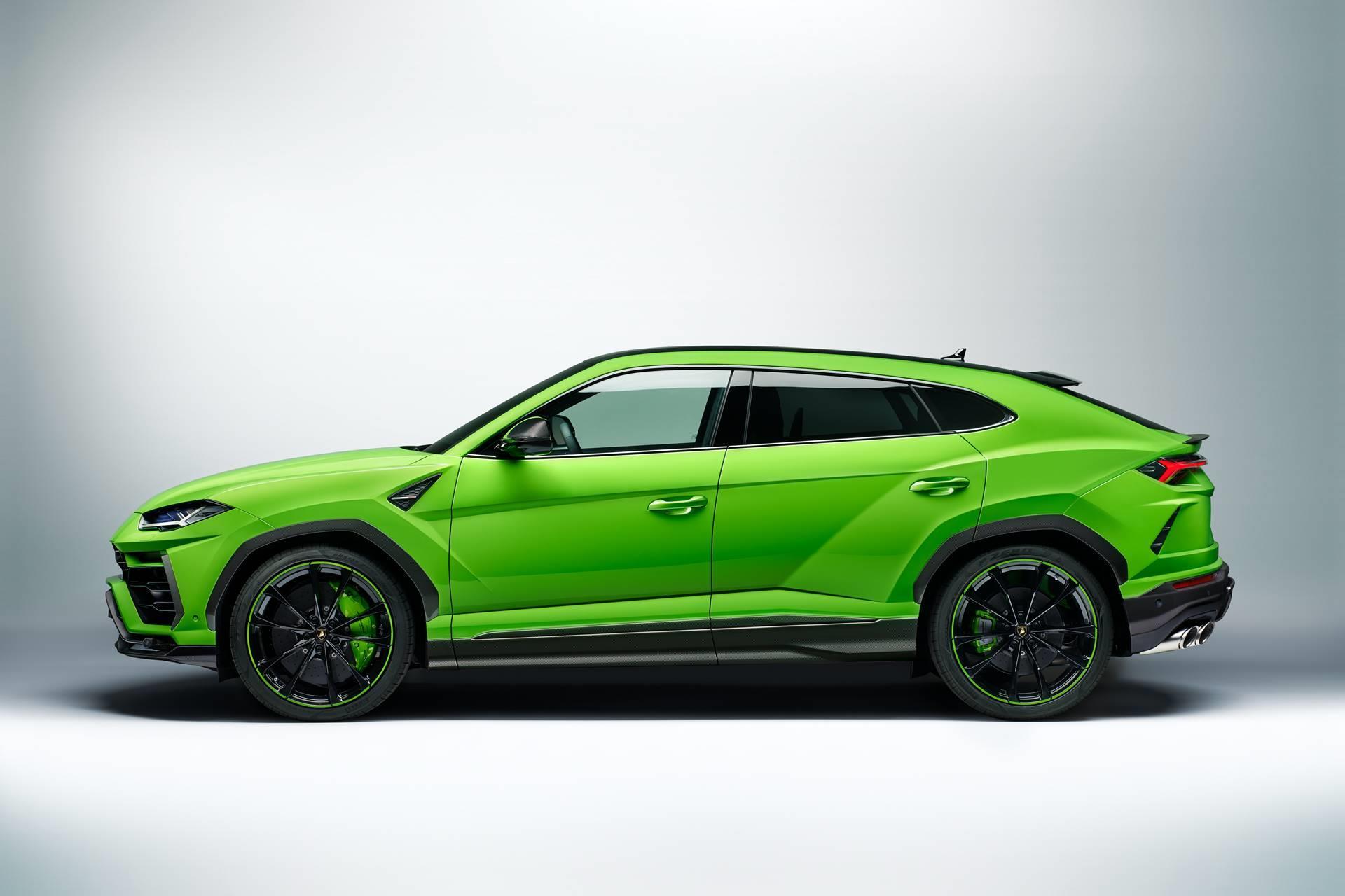 2020 Lamborghini Urus Pearl Capsule News And Information