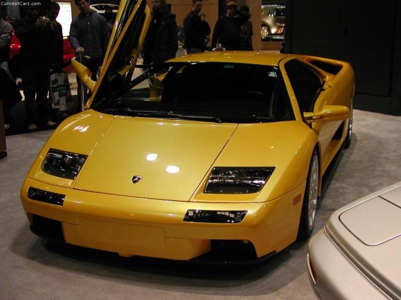 2001 Lamborghini Diablo Vt 6 0 Image Photo 48 Of 56