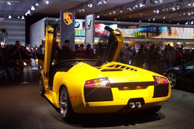 2003 Lamborghini Murcielago Convertible Concept Image Photo 12 Of 12