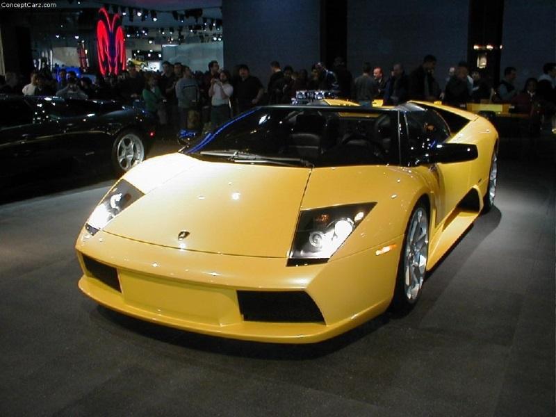 2003 Lamborghini Murcielago Convertible Concept Image Photo 5 Of 12