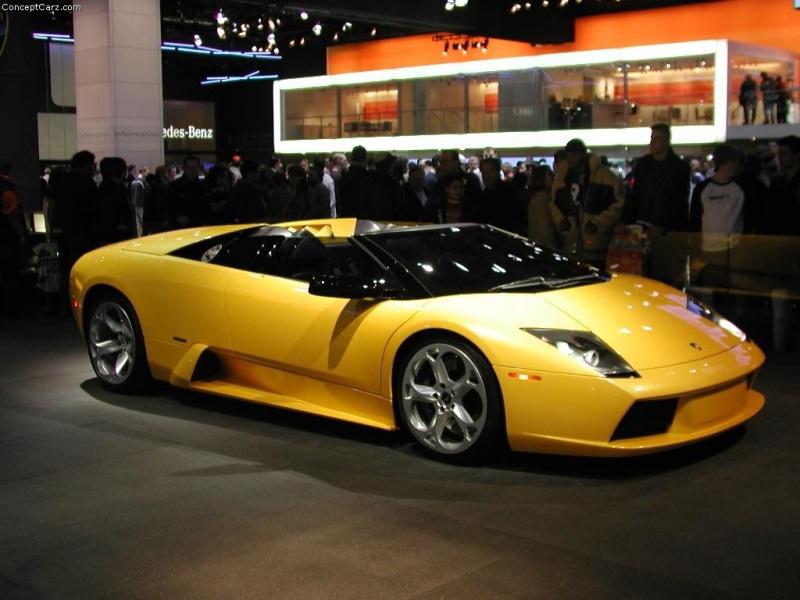 2003 Lamborghini Murcielago Convertible Concept Image Photo 4 Of 12