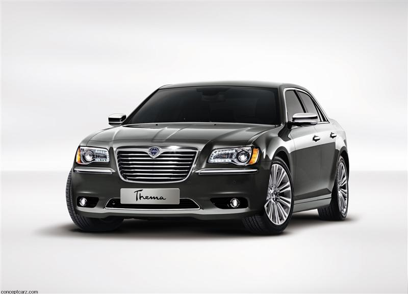 2012 Lancia Thema pictures and wallpaper