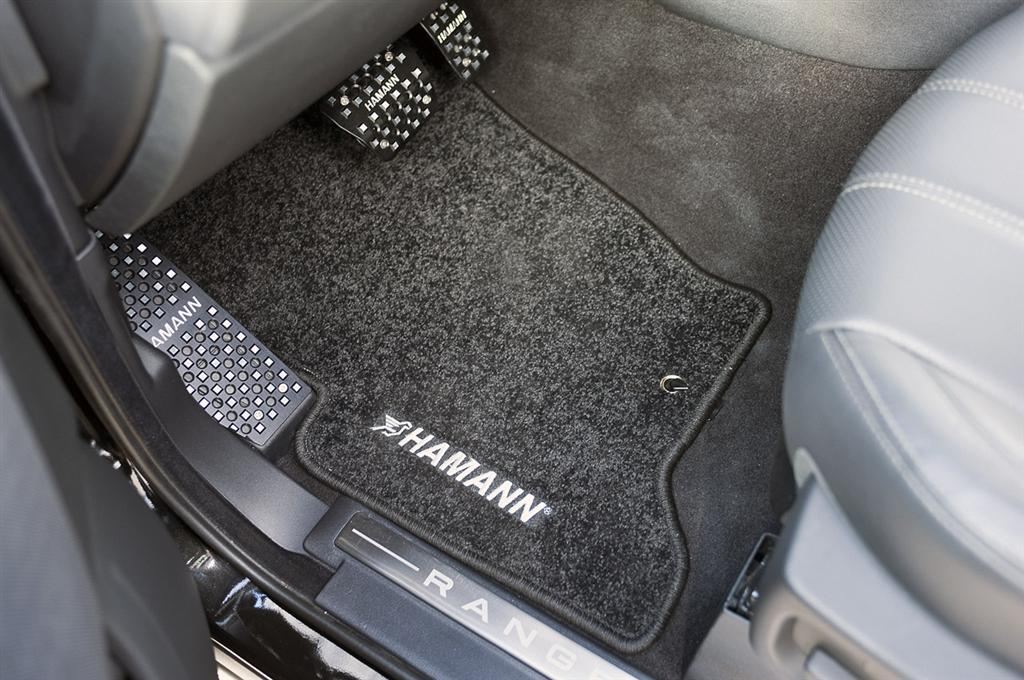 Auction results and sales data for 2010 hamann range rover for Mercedes benz winter floor mats