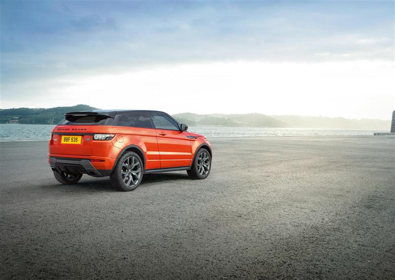 2015 Land Rover Range Rover Evoque Autobiography Dynamic Image