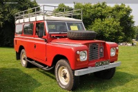 1968 Land Rover Series II image.