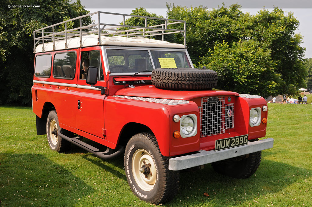1968 Land Rover Series II Pictures, History, Value, Research, News - conceptcarz.com