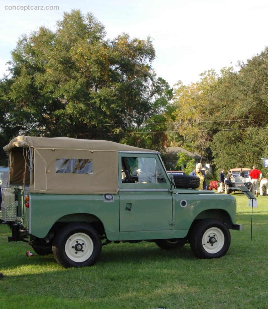 Jaguar Land Rover Hilton Head: 1969 Land Rover SWB IIA Image