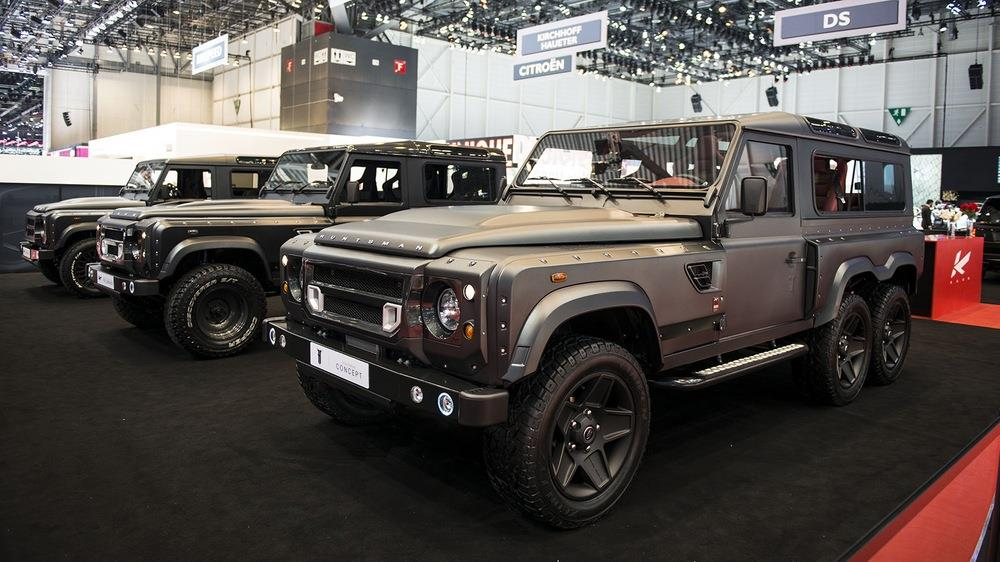 2015 A Kahn Defender Huntsman Concept Pictures News