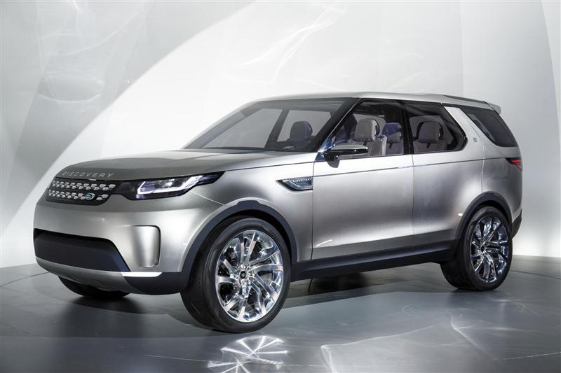2014 Land Rover Discovery Vision Concept Image Photo 14 Of 14