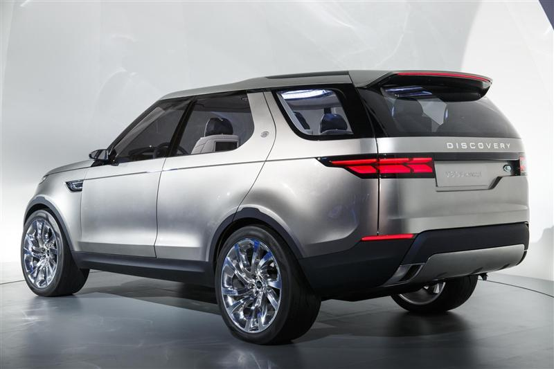 2014 Land Rover Discovery Vision Concept Image Photo 13 Of 14