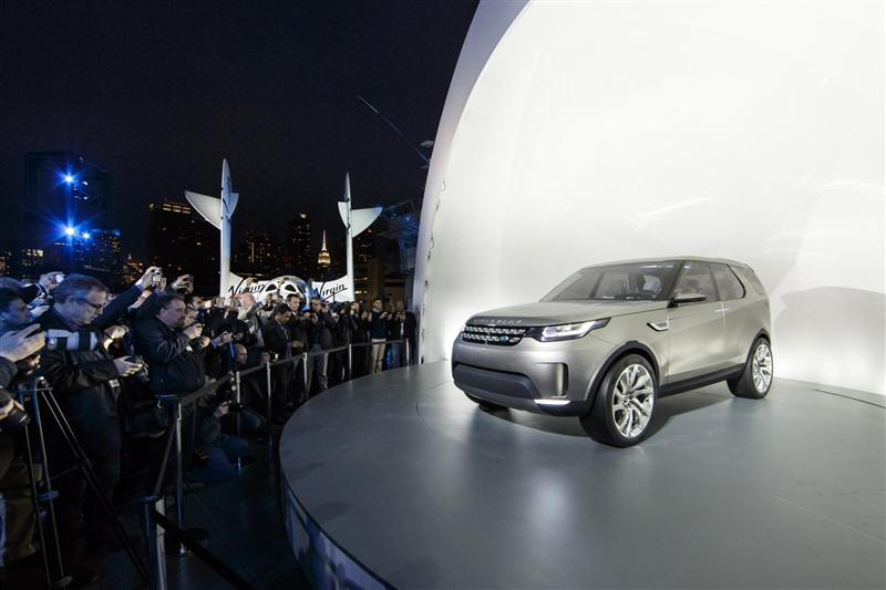 2014 Land Rover Discovery Vision Concept News And Information