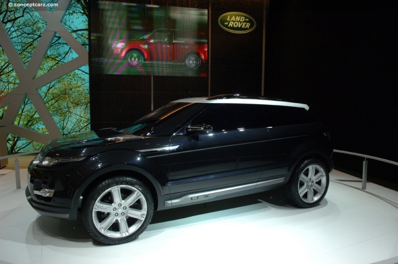 2008 Land Rover Lrx Concept Image Photo 24 Of 96