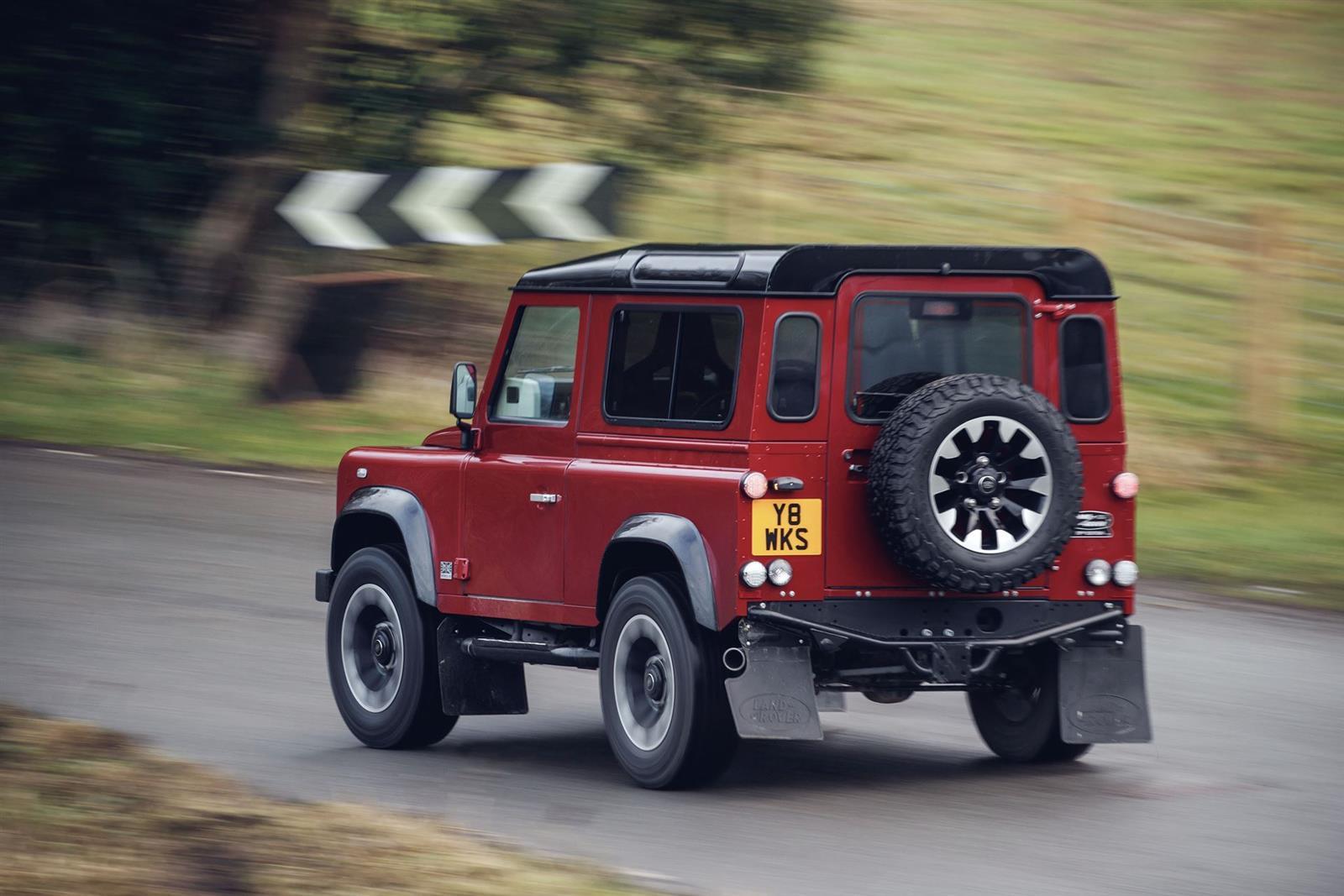 2018 Land Rover Defender V8 Edition Image. https://www.conceptcarz