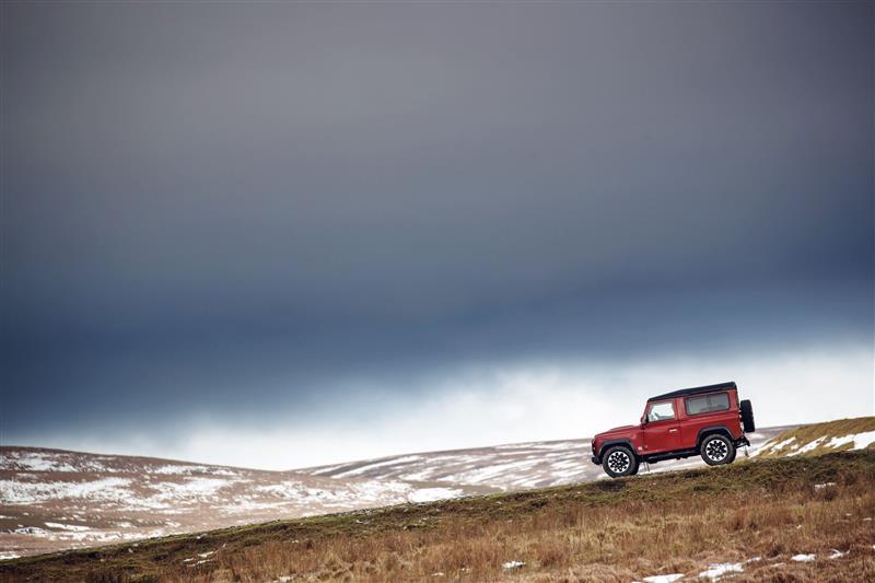 2018 Land Rover Defender V8 Edition Image Photo 14 Of 19