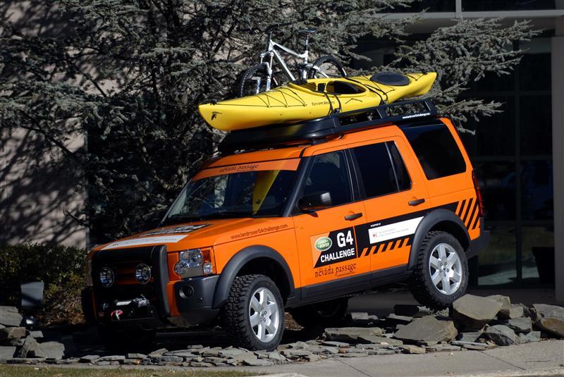 2008 Land Rover LR3 G4 Challenge Image. Photo 4 of 5