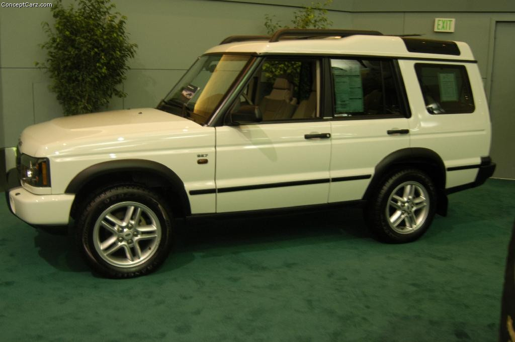 Auction Results And Sales Data For 2004 Land Rover Discovery
