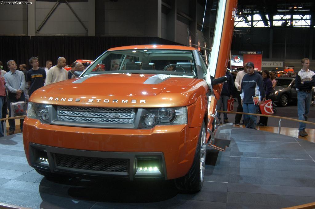 2004 Land Rover Range Stormer Concept Image Https Www