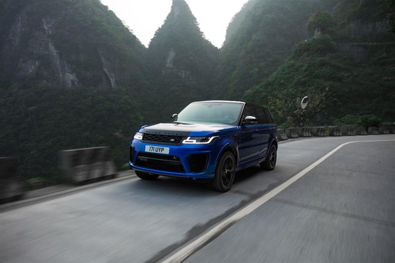 Land Rover Range Rover SVR pictures and wallpaper