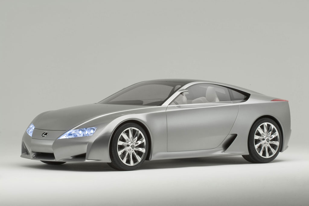 2005 Lexus LF-A Concept Wallpaper and Image Gallery
