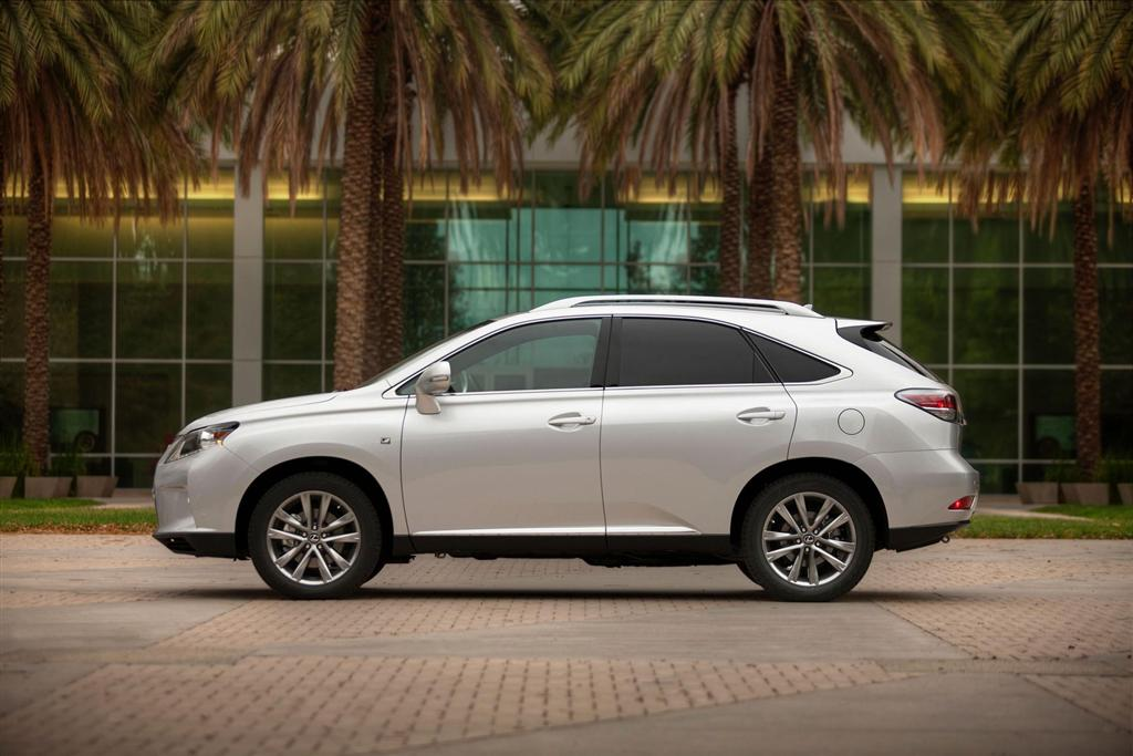 Auction Results and Sales Data for 2013 Lexus RX 350 F SPORT