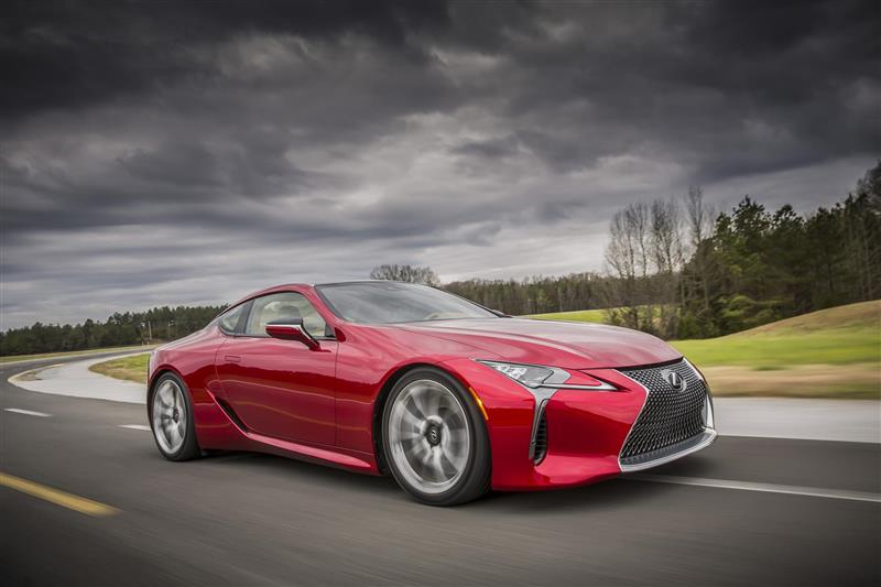 2017 Lexus LC 500 Image. Photo 63 of 64