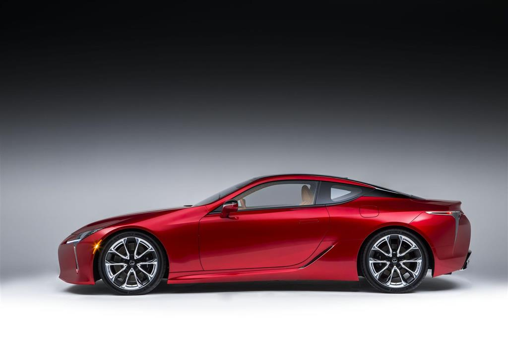 Lexus lc 500 dimensions