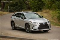 Lexus RX Monthly Vehicle Sales
