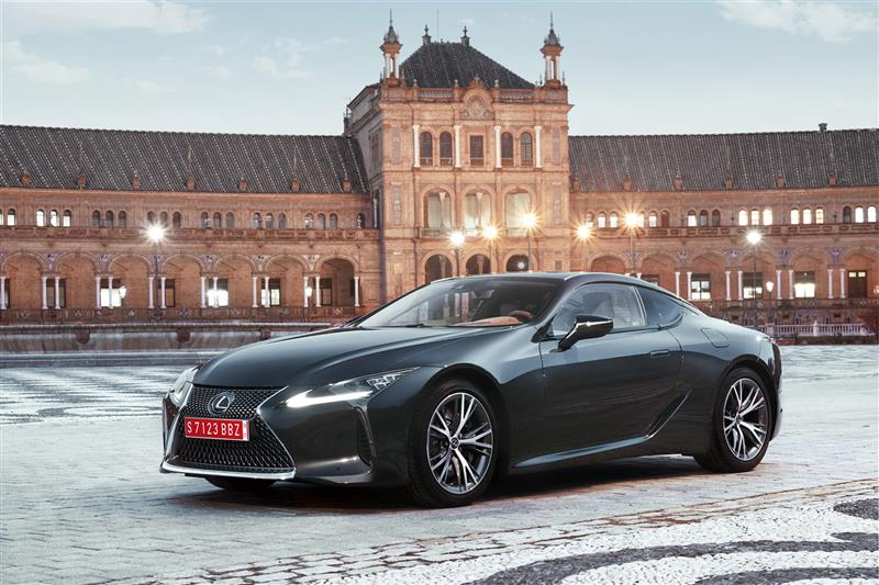 2018 Lexus LC 500 News and Information | conceptcarz.com