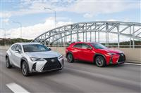 Lexus UX Monthly Vehicle Sales