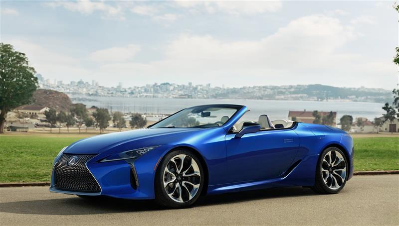 2021 Lexus Lc 500 Convertible News And Information