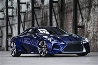 Popular 2012 LF-LC Blue Concept Wallpaper
