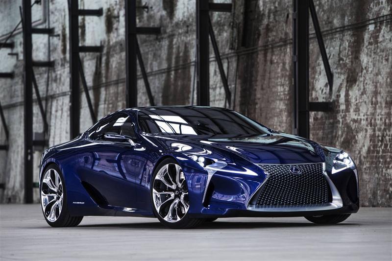 2012 Lexus LF-LC Blue Concept News and Information, Research, and ...