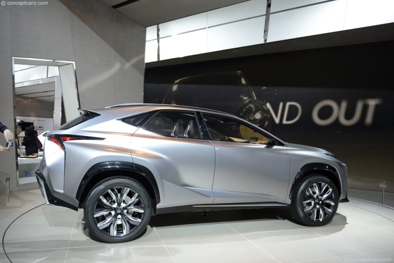 Lexus Is 200 >> 2013 Lexus LF-NX Crossover Concept Image. Photo 9 of 43